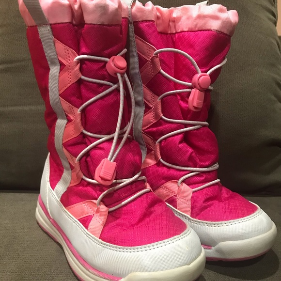 girls snow boots size 12